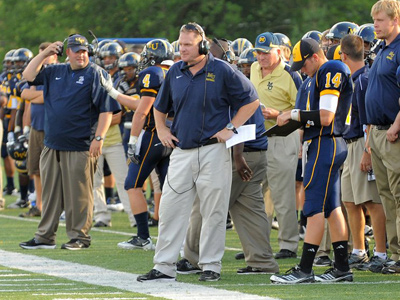 Head coach Ted Karras Jr., is the 2011 American Football Monthly NAIA Coach of the Year.