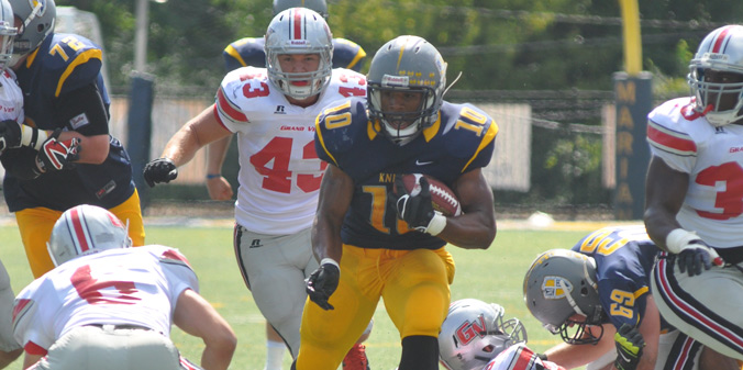 Junior Tevin Lake rushed for 142 yards marking the 18th 100-yard performance of his career in MU's 21-19 win.