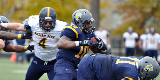 #21 Knights Earn Second Win Over Top-10 Team, 37-14