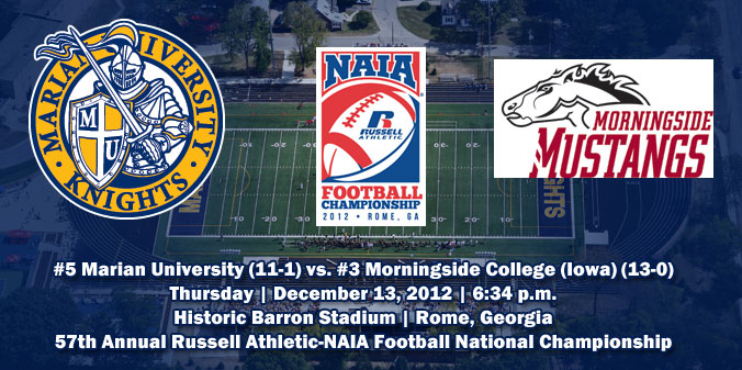 The #5 Knights and #3 Mustangs are making their first-ever trips to the NAIA national championship game.