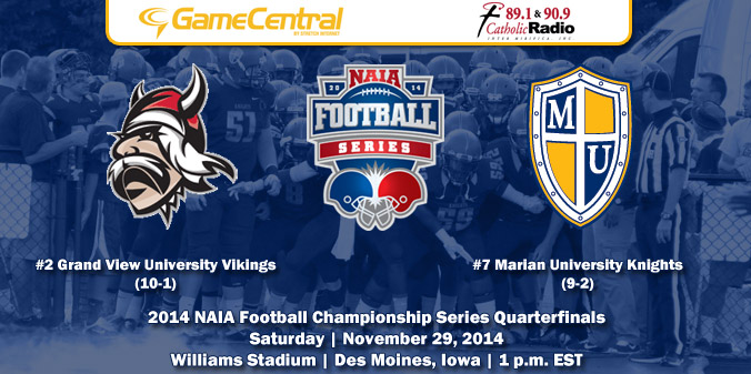 GAME PREVIEW: NAIA FCS Quarters - #7 MU at #2 GVU