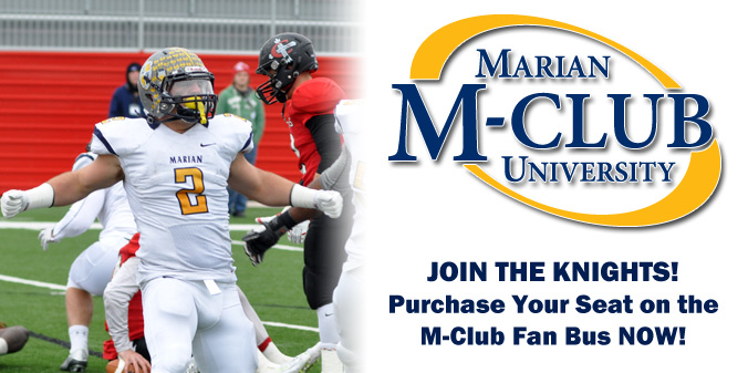 JOIN THE KNIGHTS ON THE M-CLUB FAN BUS!