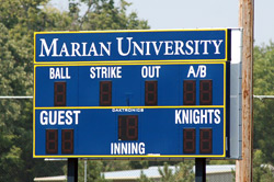 The new scoreboard