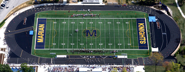 half off e6b9f e4e97 The crown jewel of the Marian University Athletic Complex, St.Vincent Field  was completed on July 1, ...