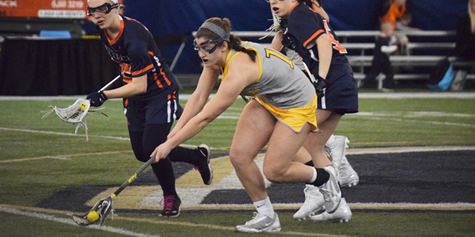 Marian Lacrosse Pitches 22-0 Shutout in Inaugural Game