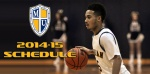 2014-15 Men's Basketball Schedule Announced