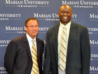 Former Butler and Iowa coach Todd Lickliter is the seventh head coach in Marian University men's basketball history.