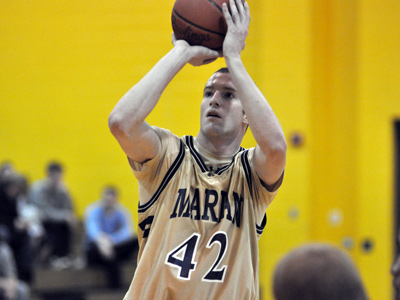Senior Jake Sullivan scored seven of his 12 points on a solo 7-0 run to spark Knights in emphatic 70-54 win on Tuesday.