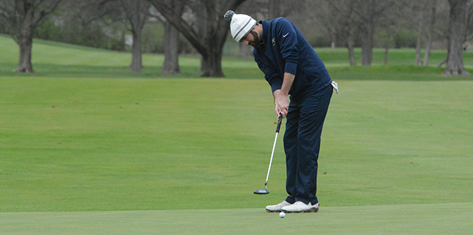 Chapman Named Crossroads League Golfer of the Week