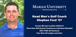 STEPHEN FORD TO LEAD MU MEN'S GOLF