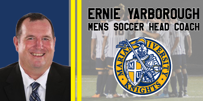 Ernie Yarborough Hired As New Men's Soccer Head Coach