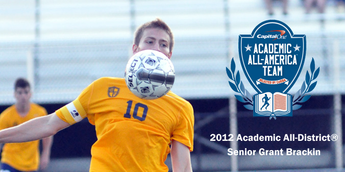 Brackin Named Capital One Academic All-District��