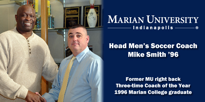 MIKE SMITH TO LEAD MU MEN'S SOCCER