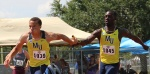 Relay Sets School Record; Qualifies for Finals