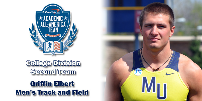 Elbert Earns Capital One Academic All-America� Honor