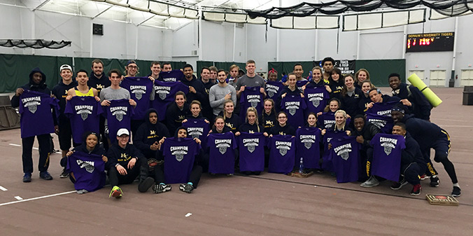 Knights Sweep Men's and Women's Titles at DePauw