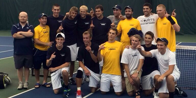 MU defeated No. 2-seeded Huntington on Saturday, 5-1