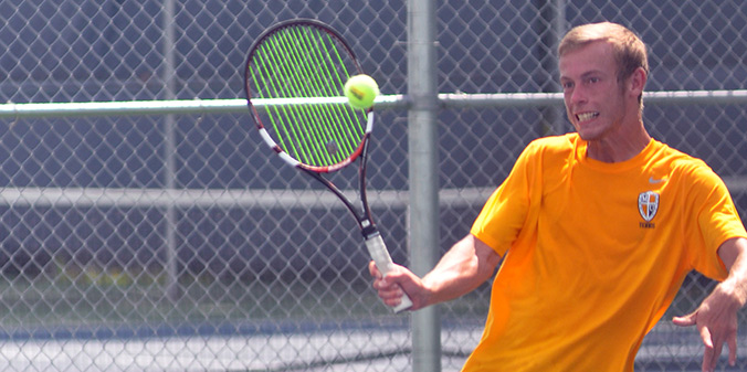 Denton Earns Consolation Title at ITA Regionals