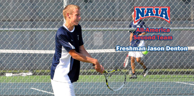 Freshman Jason Denton was named to the NAIA All-America Second Team in 2012-13.