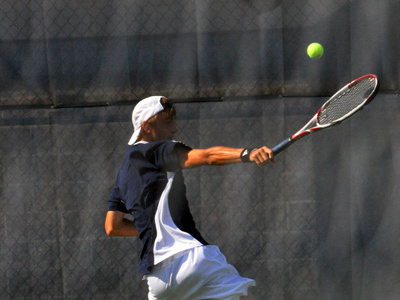 Freshman Ryan Heuer earned a 6-4, 6-2 win at No. 1 singles at Franklin on Tuesday.