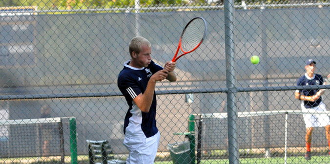 Freshman Jack Hiatt finished the 2012 fall season with a flawless 12-0 record at No. 6-singles.