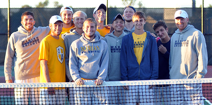 Men's Tennis to Host Saint Francis (Ind.) in Tournament First Round