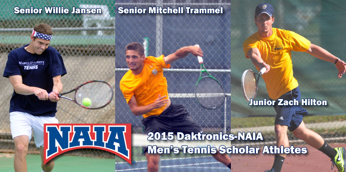 Three Knights Honored as Daktronics-NAIA Scholar Athletes