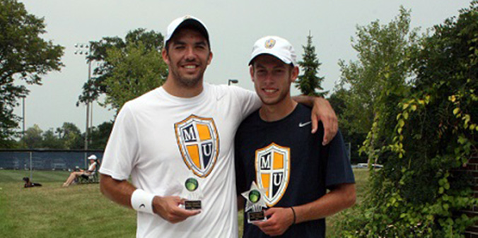 Knights Sweep Titles at Doubles Tournament