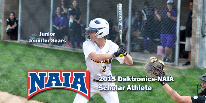 Sears Earns Daktronics-NAIA Scholar Athlete Honor