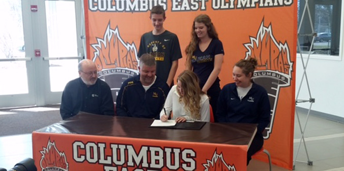 Chandler Commits to MU Volleyball for 2015