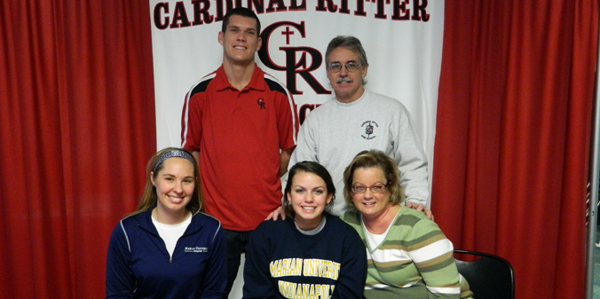 Cardinal Ritter Standout Inks with Knights
