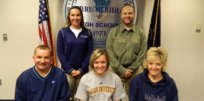 Perry Meridian Standout Inks with Knights
