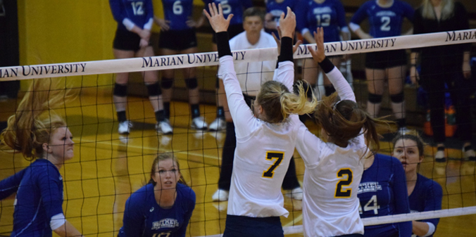 Knights Bounce Back; Sweep Bethel