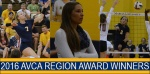 Three Knights Honored by AVCA