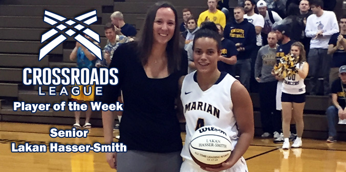 Hasser-Smith Named League Player of the Week
