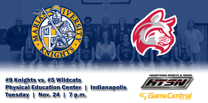 #9 Knights to Host #5 Wildcats Tomorrow on HTSN