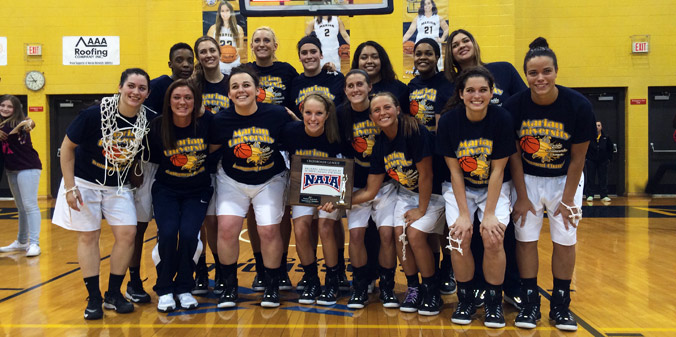 #7 KNIGHTS WIN FIRST LEAGUE TOURNEY TITLE, 63-59