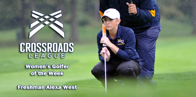 West Named League Golfer of the Week