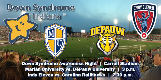 DOWN SYNDROME AWARENESS NIGHT AT CARROLL STADIUM