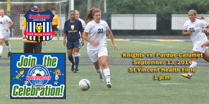 Knights to Celebrate Youth Soccer Month on September 13