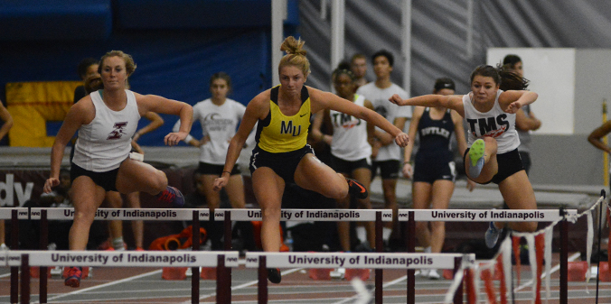 Men's and Women's Track and Field Compete at UIndy Team Invite