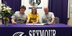 Seymour Standout Commits to Knights