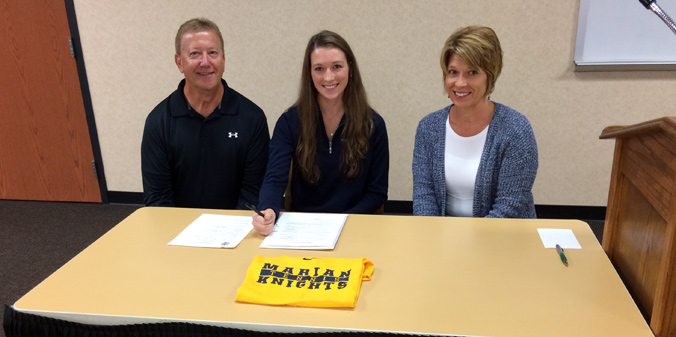 Jasper Standout Commits to Knights