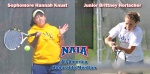 Knust and Horlacher Earn National Recognition