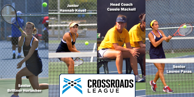 A trio of Knights were named all-league while head coach Cassie Mackell is the league coach of the year.