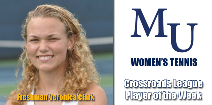 Clark Named Crossroads League Player of the Week