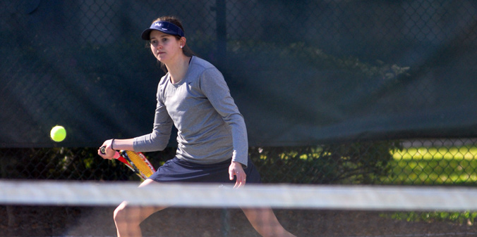 Freshman Grace Neathery picked up MU's lone point in a 6-1 defeat at IUPUI on Tuesday.
