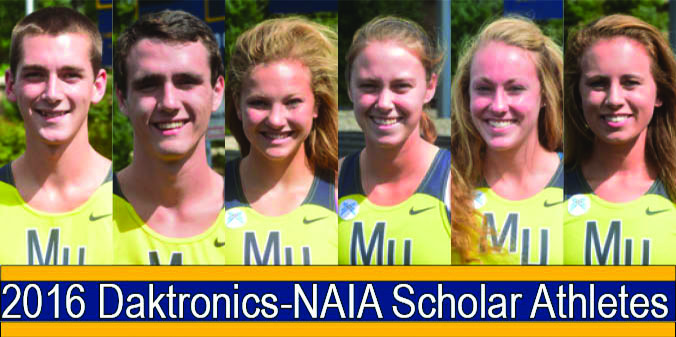 Knights Place Six Runners on Daktronics-NAIA Scholar Athletes List