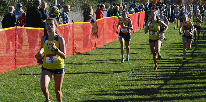 Marian Men Win Crossroads League Cross Country Championship; Women Take Home Fourth