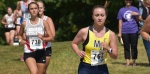 Women's Cross Country Place 7th In Blue Division Race